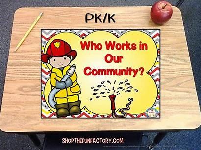 Community Helpers Fun Factory Social Studies Teacherspayteachers