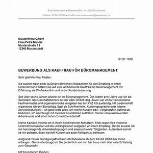 Bewerben Für Oder Um : bewerbung als kauffrau f r b romanagement kaufmann f r b romanagement muster ~ Watch28wear.com Haus und Dekorationen