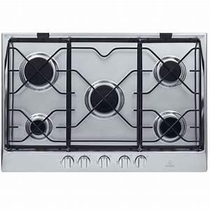 Plaque De Cuisson Ariston : table de cuisson 5 feux gaz indesit anniversaire 40 ans ~ Dailycaller-alerts.com Idées de Décoration