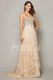 robe bustier pour mariage quelle robe de soirée longue choisir pour mariage robe de soirée chic