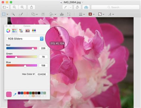 eyedropper color picker get tips for using the mac s color picker macworks