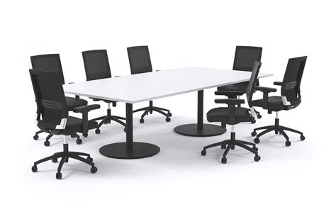 cheap conference room tables 8 person large boardroom table black legs sapphire