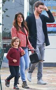 Kourtney Kardashian, her beau Scott Disick and her son ...