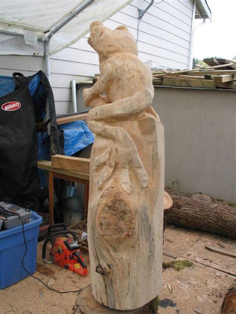 chainsaw frog rough  complete  dbme  lumberjocks