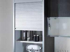 Rideau Coulissant Pour Meuble : meuble cuisine coulissant cuisinez pour maigrir ~ Teatrodelosmanantiales.com Idées de Décoration