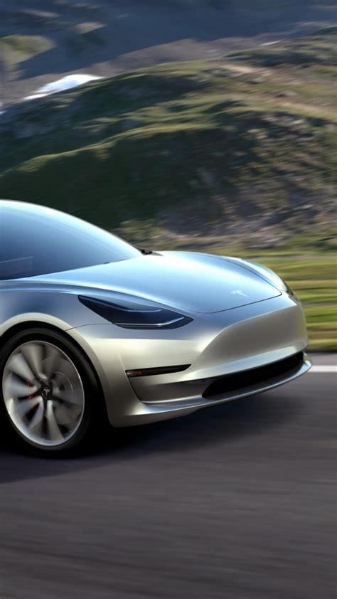 wallpaper tesla model  prototype electric cars sedan