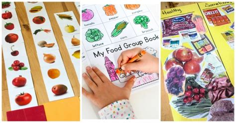 how to teach healthy with a preschool nutrition theme 609 | 10 Food and nutrition activities for preschoolers FB