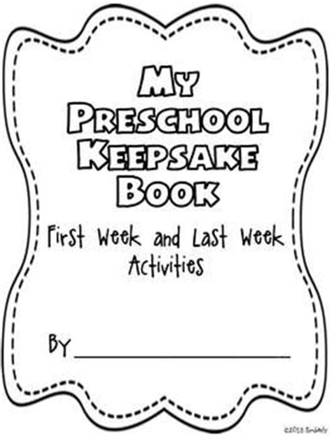 preschool keepsake book week last week activities 988 | 5c74e12dd68730bf8a2f13911d1ec2b1