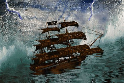 Ship Animation by Stormy Seas 2 Animated By Lindartz On Deviantart