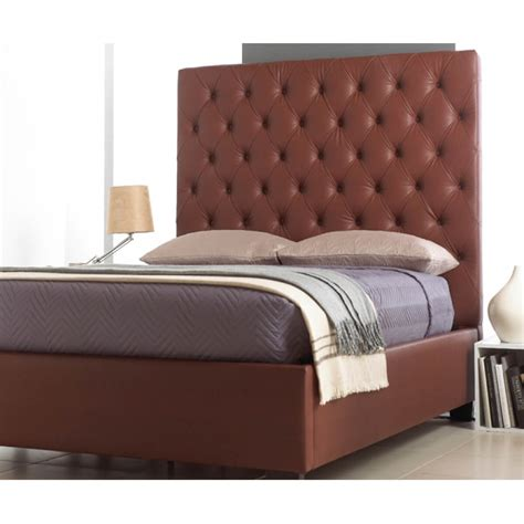 Leather Headboard Bed Frame by Headboard Bed Frame Faux Leather Beds Fads