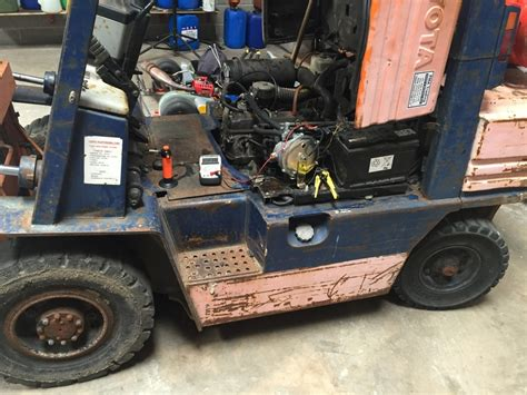 lpg forklift repair fix servicing northern ireland uk toyota