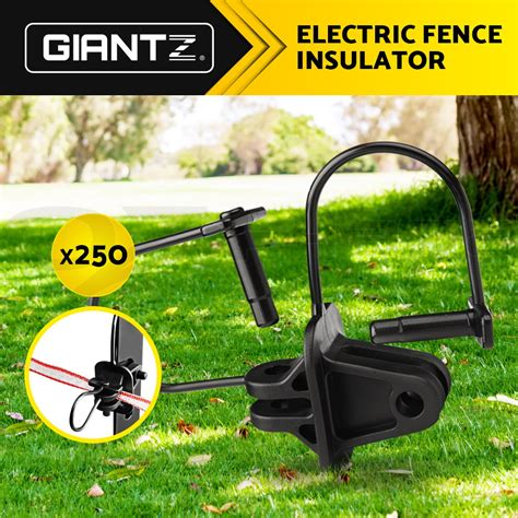 6 best electric fence insulators for tube posts. Giantz 250X Electric Fence Insulators Insulator Pinlock Energiser Insulation | eBay
