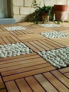 Galets Blancs Pour Jardin Pas Cher : dalles galets jardin et balcon pinterest photos ~ Dailycaller-alerts.com Idées de Décoration
