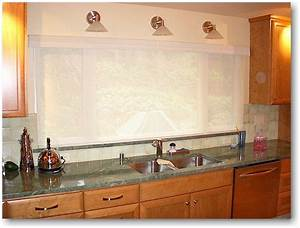 kitchens sinks without windows google search kitchen With over the sink kitchen window treatments