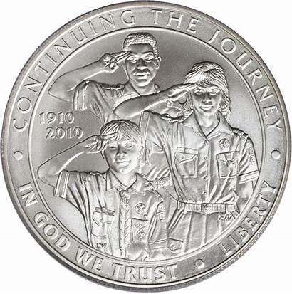 Value Silver Boy Coins Scout Commemorative America
