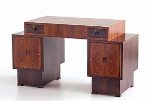 Art Deco Schreibtisch : art deco schreibtisch aus palisander makasser ebenholz von 39 t woonhuys amsterdam 1920er bei ~ Orissabook.com Haus und Dekorationen