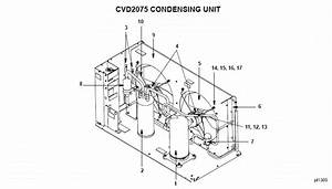 Manitowoc Cvd2075 Condensing Unit Parts Diagram