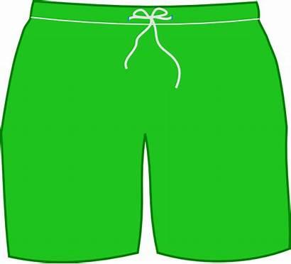 Shorts Clipart Swim Clip Trunks Trunk Cliparts