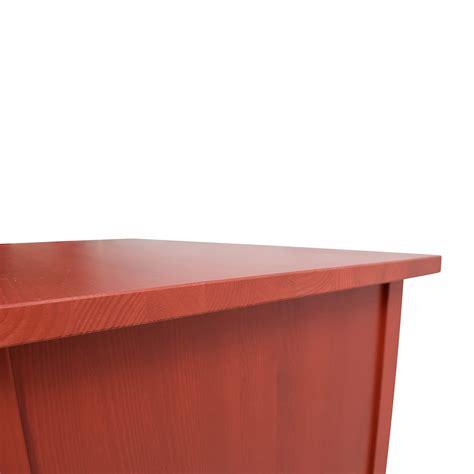 50 off ikea ikea red hemnes 3 drawer dresser storage