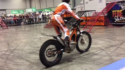 Adam Holbrook Trails Demo At 2016 Aim Expo