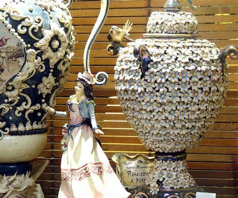catania ceramics  caltagirone sicily italy crafts