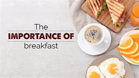 The Importance Of Breakfast  Healthy Lifestyle Videos