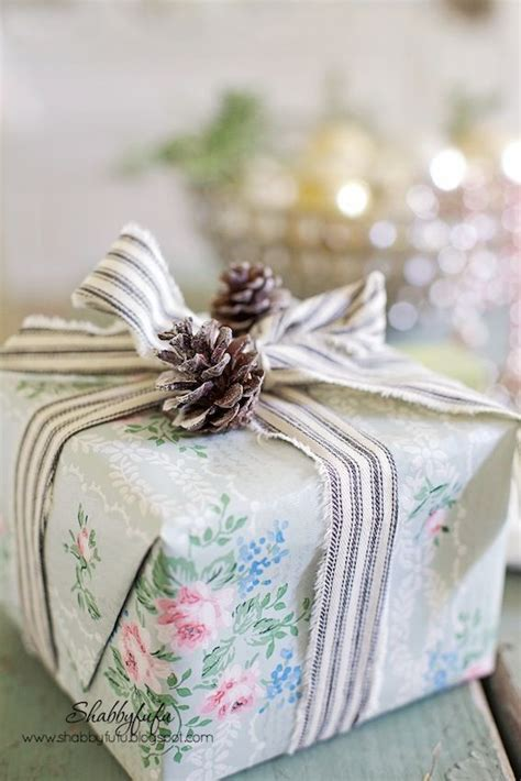 shabby chic christmas wrapping paper 381 best diy gift wrapping inspiration images on pinterest christmas deco christmas decor and