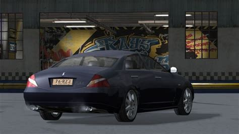 Mercedes-benz Cls 55 Amg In Driver