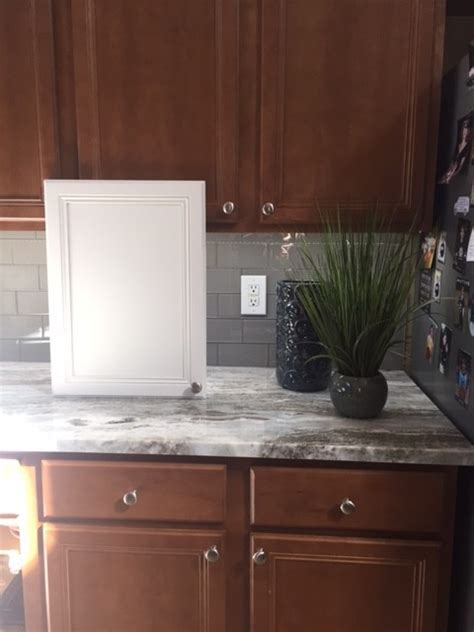 brown tile backsplash help for cabinet colors with brown granite