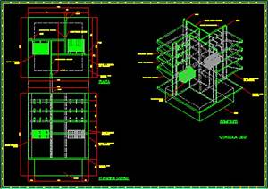 Exhibition Display Stand 2D DWG Detail for AutoCAD
