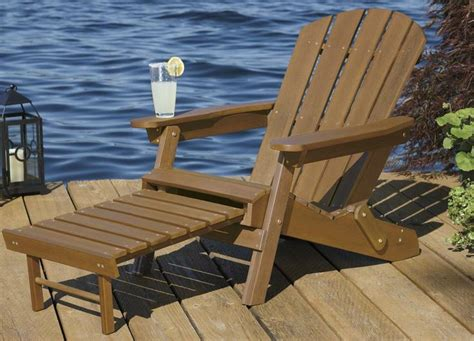 adirondack chair with ottoman costco woodworking