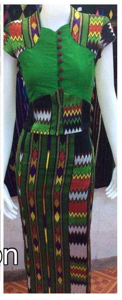 images  kachin fashion dresses  pinterest