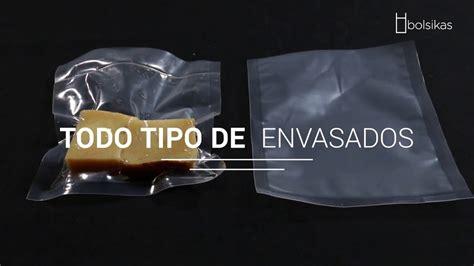bolsas  envasado al vacio bolsikas youtube