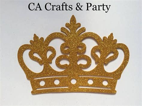 foam prince crown gold  pcs king crown princess crown