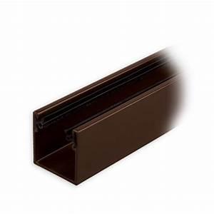 Rolladen Führungsschienen Kunststoff : maxi aluminium f hrungsschiene 28 x 28 x 28 mm mit neopren einlage braun lackiert diwaro ~ Orissabook.com Haus und Dekorationen