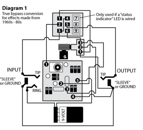Up Bypas Switch Wiring Diagram by 3pdt Stomp Switch Stewmac