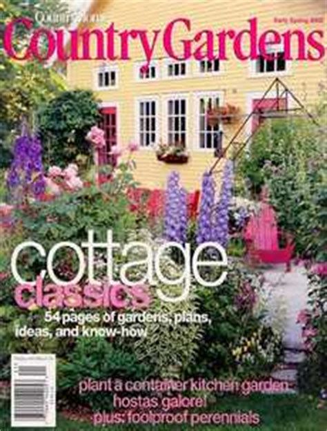 country gardens magazine subscription magazinedeals