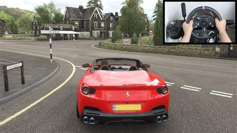 Ferrari portofino new car in update 21 fh4. Forza Horizon 4 Ferrari Portofino (Steering Wheel + Paddle Shifter) Gameplay - YouTube