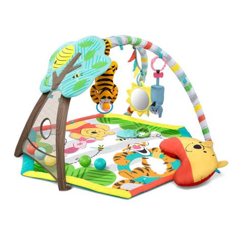 winnie the pooh happy as can bee activity from bright starts disney baby