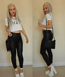 Outfit of the Day Vague Crop Tee   Vanity Claire