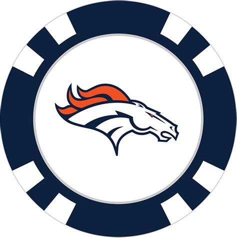 Denver Broncos Poker Chip Ball Marker  Team Golf Usa