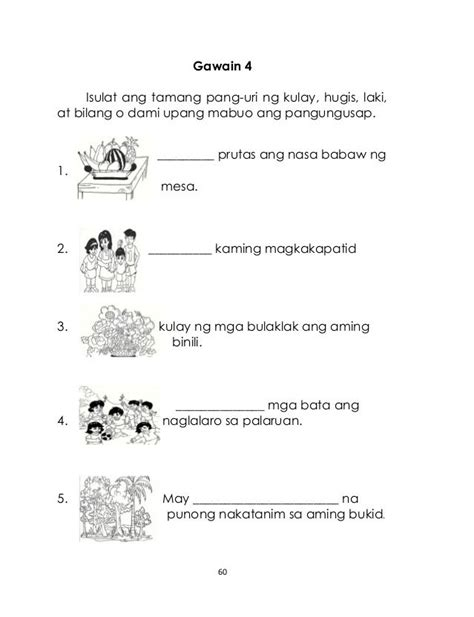 gamit ng pangngalan worksheets for grade 6 free hair color 2018 black hairstyles