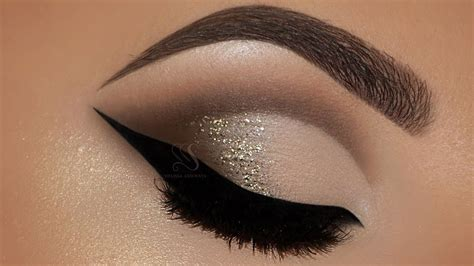 soft cut crease touch  glam makeup tutorial melissa