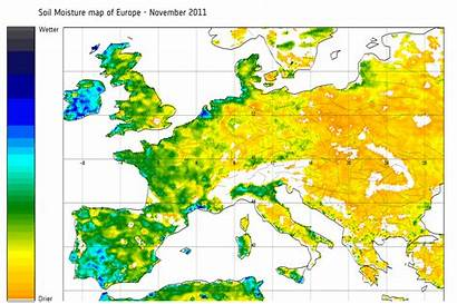 Soil Europe Map Moisture November Esa Maps