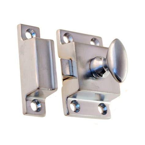 cabinet door latches restorers classic 1 3 8 inch brass cabinet latch