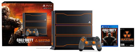 sony dualshock ps4 black updated call of duty ops 3 limited edition 1tb