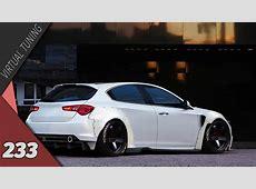 Virtual Tuning Alfa Romeo Giulietta #233 YouTube