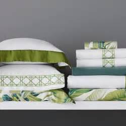 Tropical Leaf Bedding  Williams Sonoma
