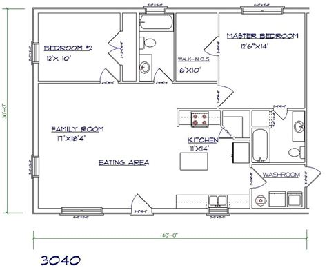 40x60 barndominium floor plans 40x60 barndominium floor plans search picmia