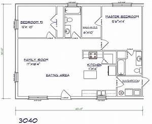 barndominium ideas 30x40 house plans barndominium floor With 30x40 metal building homes plans
